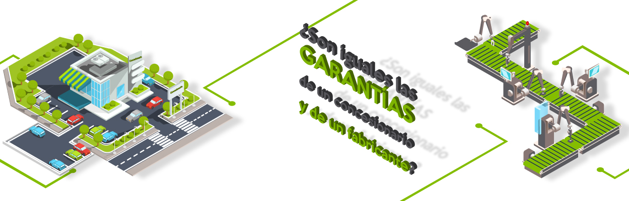 ¿Sabías que existen diferencias entre las garantías de fabricantes y vendedores??