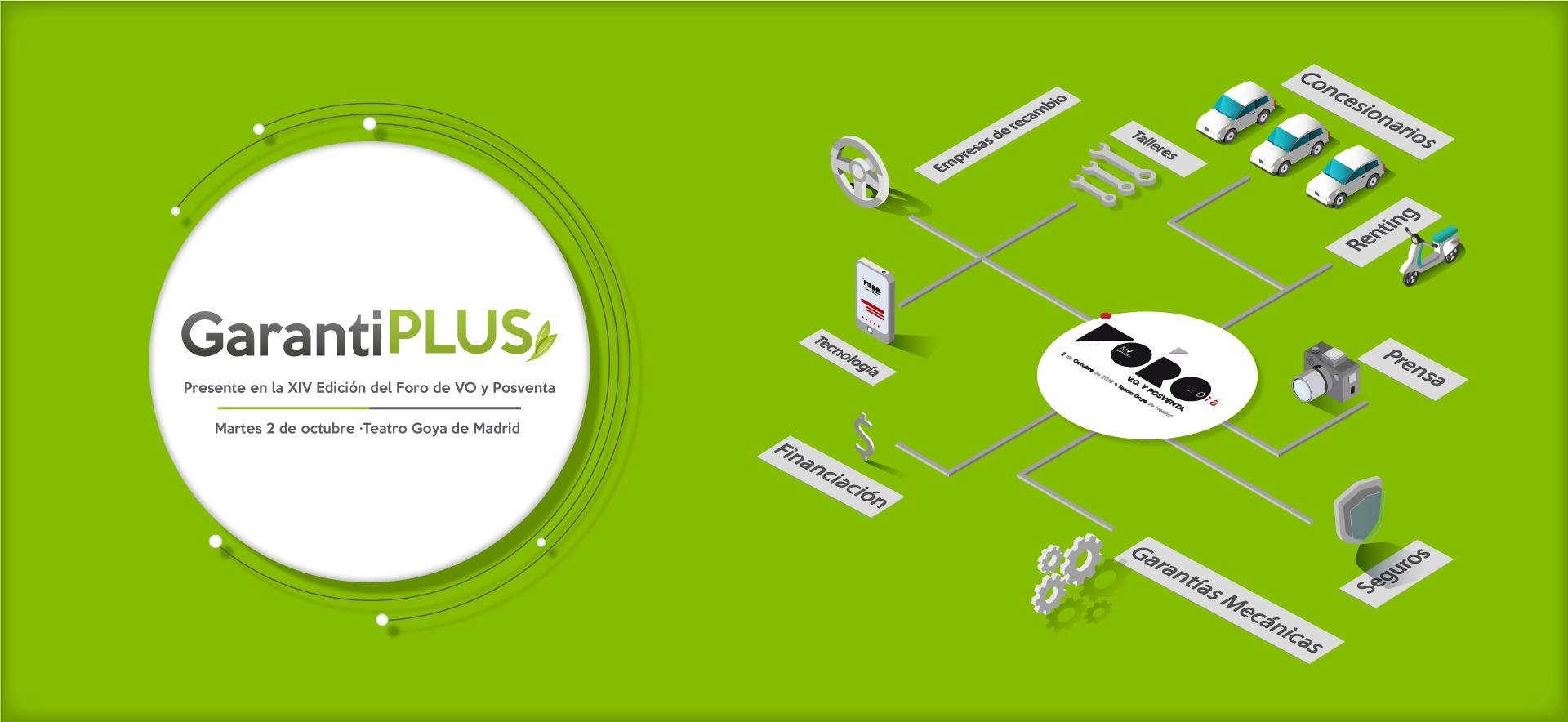 GarantiPlus celebra su quinto aniversario en el Foro de VO