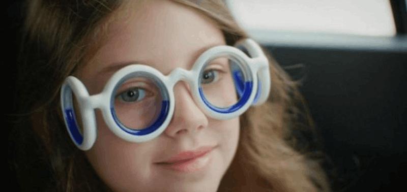 Gafas antimareo