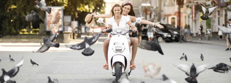 motocicleta garantizada