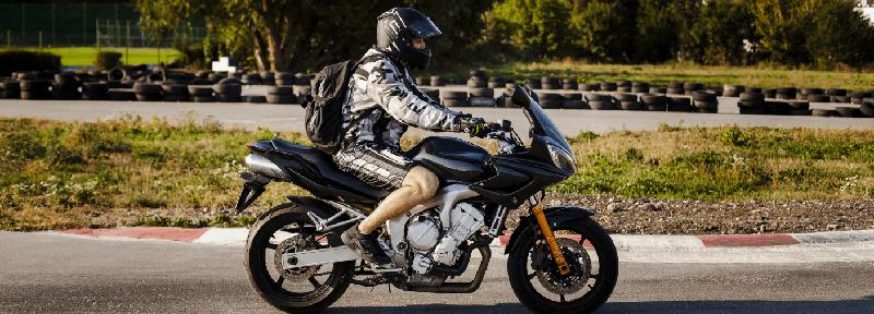 motocicleta usada