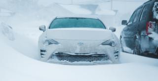 nieve vehiculo